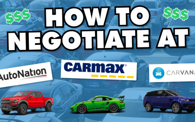 """How to Negotiate at CarMax, Carvana, and Other """"Negotiation Free"""" Car Dealers"""