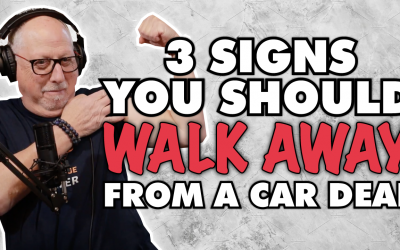 3 signs you should walk away from a car deal