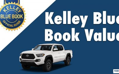 What Are Kelley Blue Book Values?