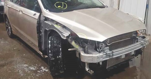 Chris' Ford Fusion with damage