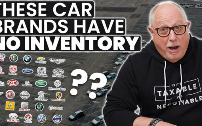 New Vehicle Inventory Levels Hit All Time Low (Ford, Honda, Toyota)