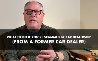 What to Do If You're Scammed by Car Dealership