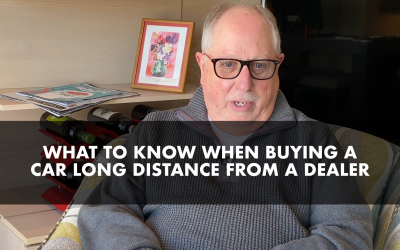 What to Know When Buying a Car Long Distance from a Dealer