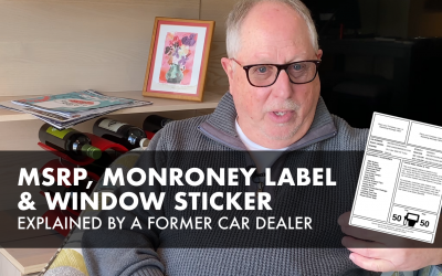 Monroney Sticker & Window Sticker Explained by a Former Car Dealer
