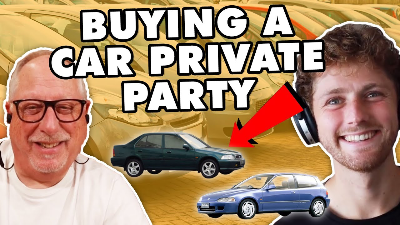 how to buy a car privately