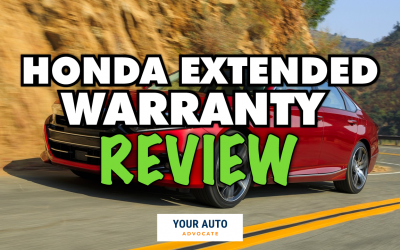 Honda Extended Warranty Review