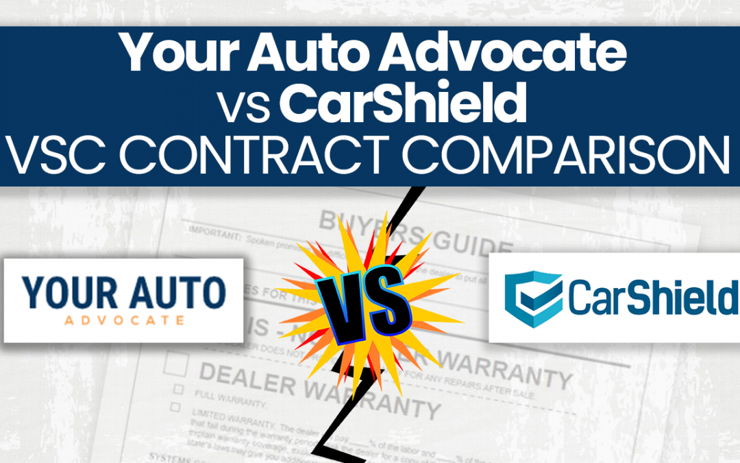 Your Auto Advocate vs. CarShield Extended Warranty