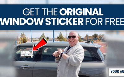 How to Get the Original Window Sticker for Any Vehicle (Free)