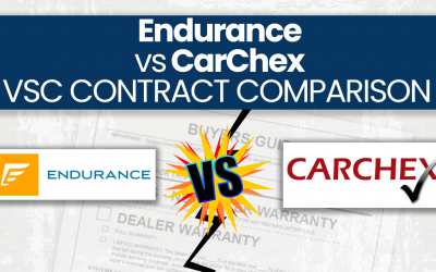 Endurance vs. CARCHEX Extended Warranty